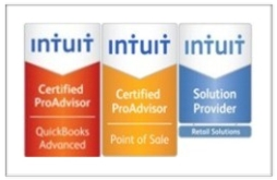 Certified QuickBooks Point of Sale ProAdvisor, Member Intuit Solution Provider